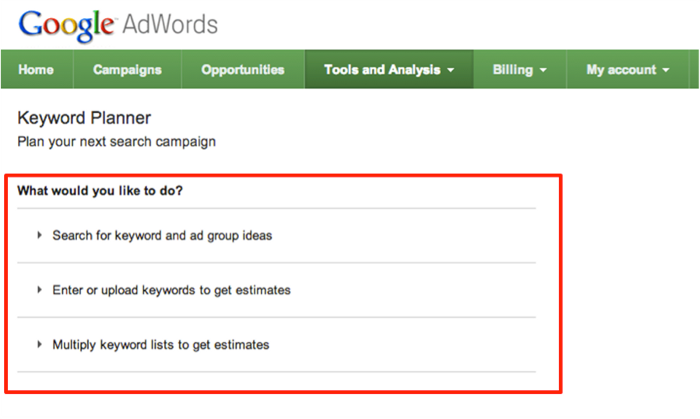 Google Adwords Keyword Tool Gone! Realistic Alternatives for Small Business SEO